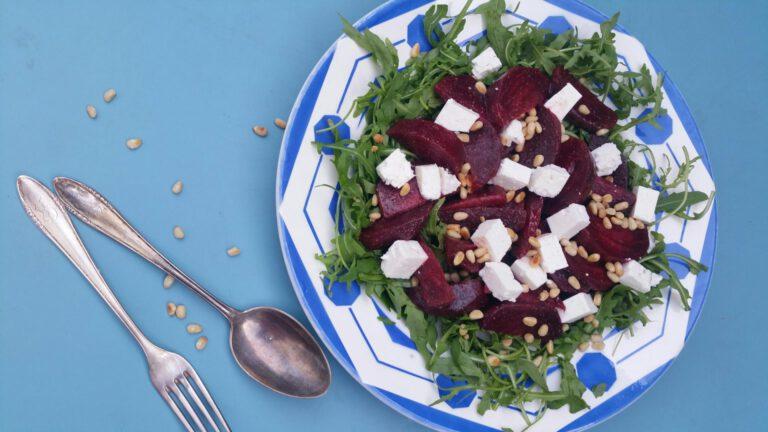 Thumbnail voor het recept: Bieten met rucola en feta