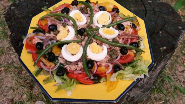 Thumbnail voor het recept: Salade Niçoise