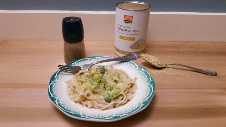 Thumbnail voor het recept: Pasta romanesco  – vegan – supersimpel