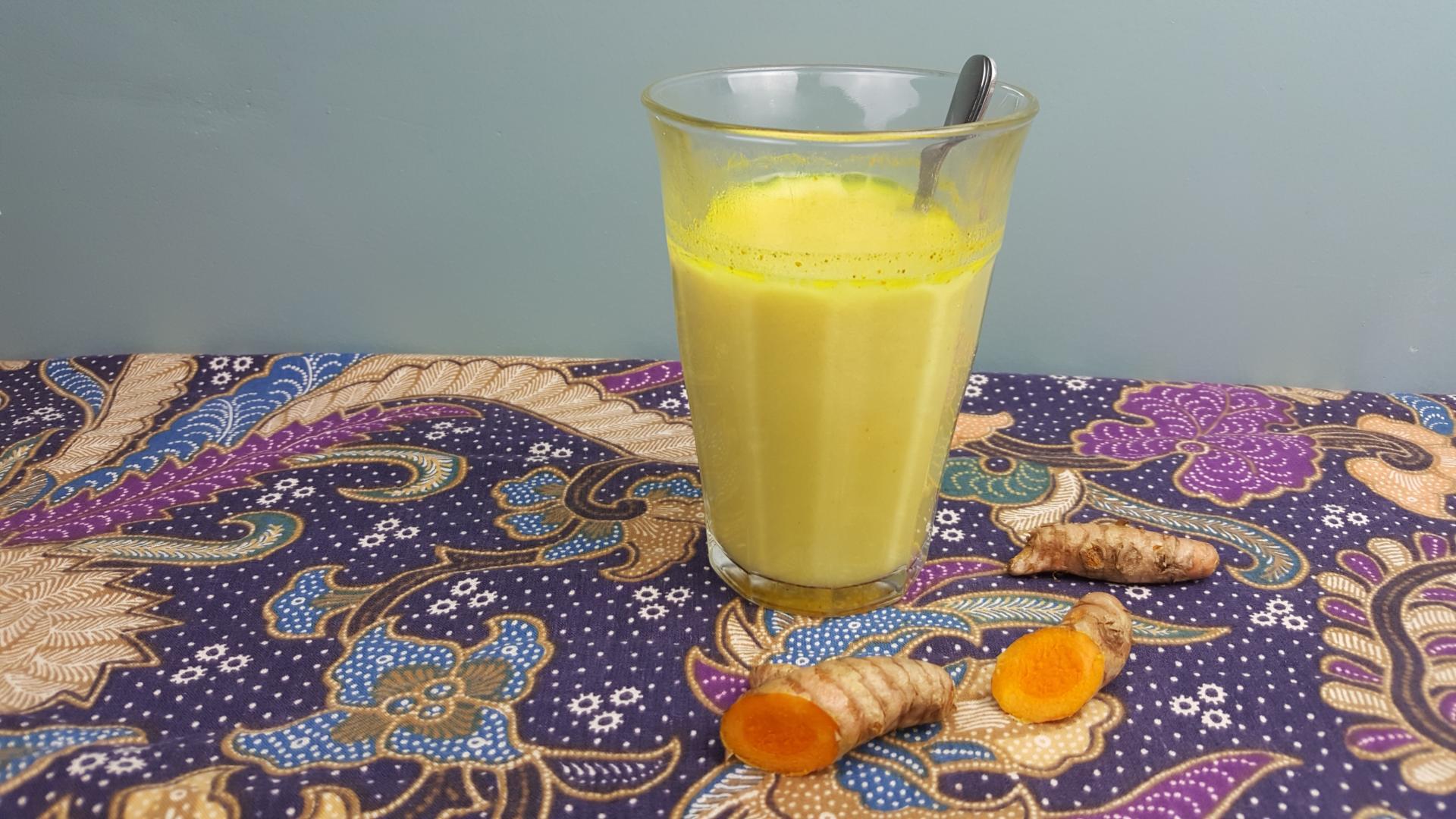Uitgelichte foto voor het bericht Golden milk