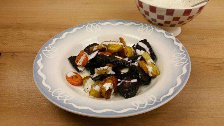 Thumbnail voor het recept: Wortel uit de oven