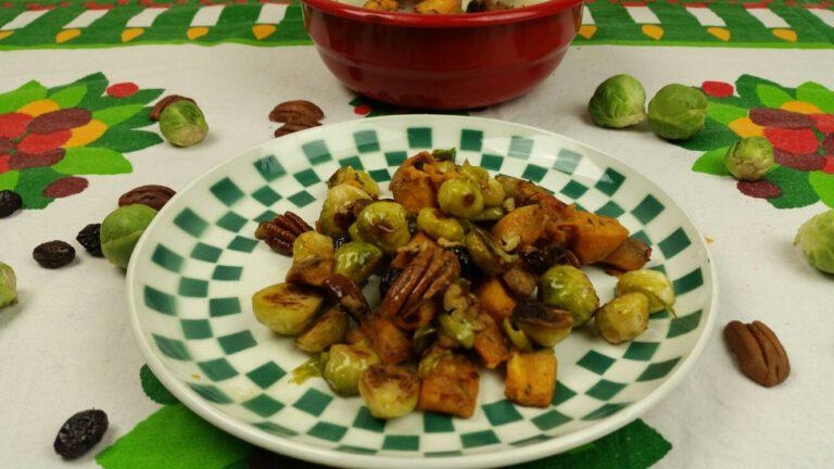 Thumbnail voor het recept: Spruitjes en bataat