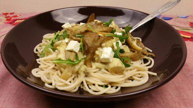 Thumbnail voor het recept: Spaghetti met schorseneren – con amore