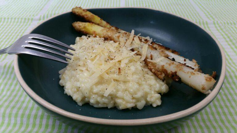 Thumbnail voor het recept: Risotto alla Parmigiana met asperges