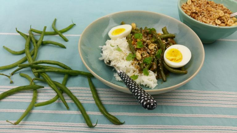 Thumbnail voor het recept: Groente in Ketjap-kokos saus