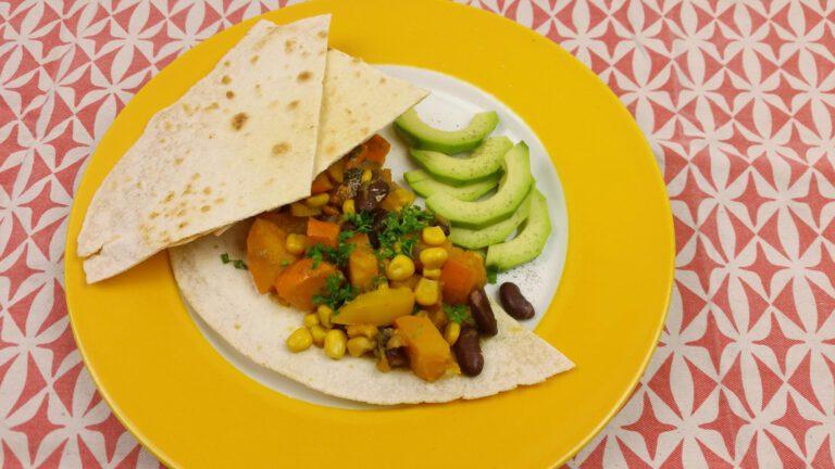 Thumbnail voor het recept: Mexicaanse pompoenstoofpot