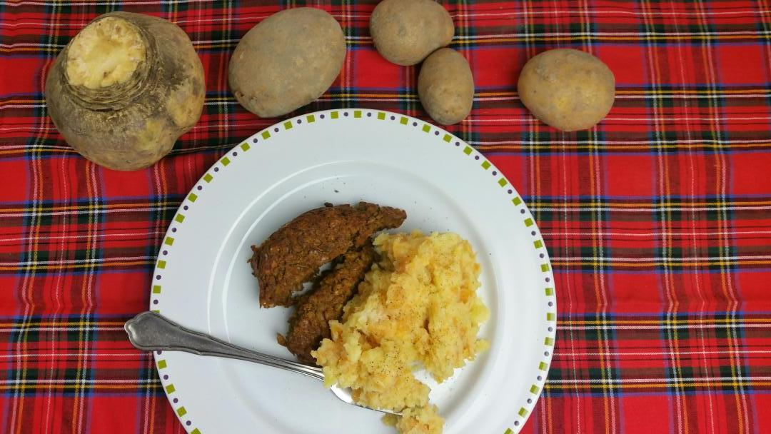 Uitgelichte foto voor het bericht Neeps and tatties : stamppot met koolraap en aardappel
