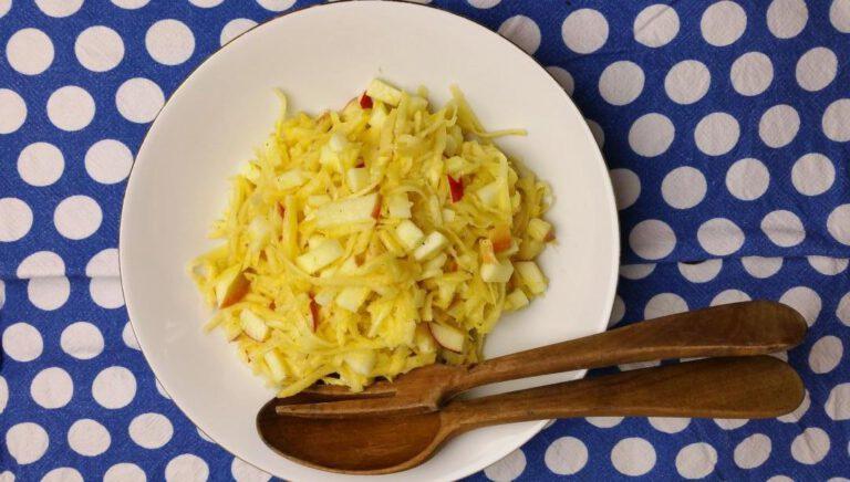 Thumbnail voor het recept: Koolraap salade met citroen