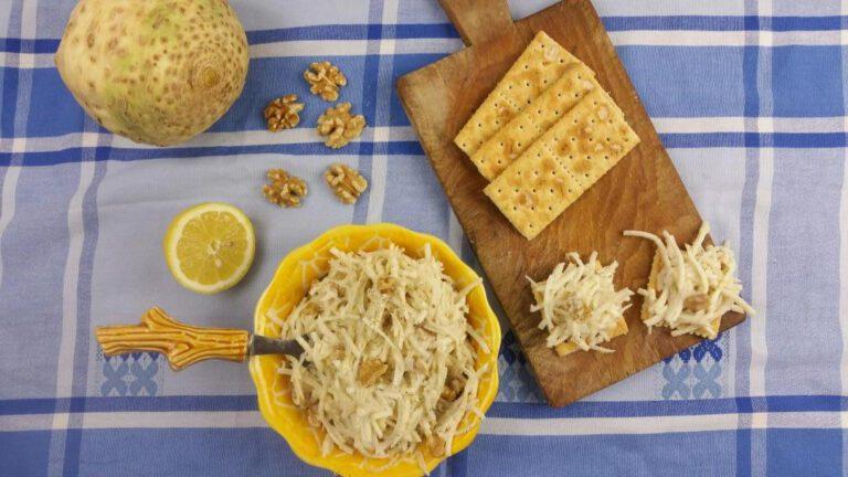 Thumbnail voor het recept: Knolselderijsalade