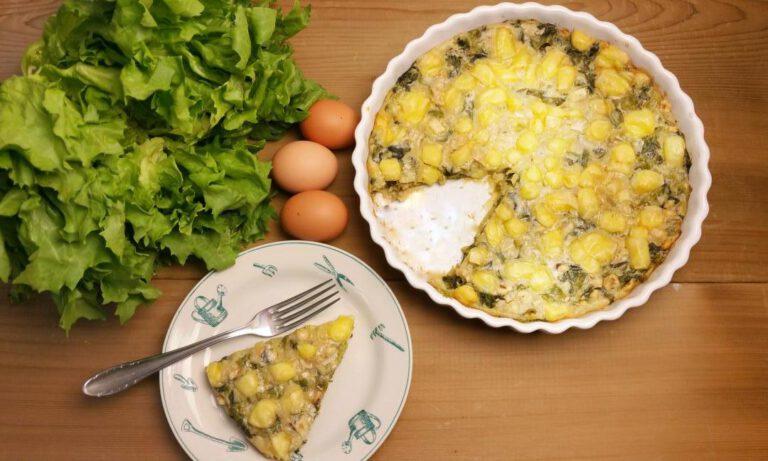 Thumbnail voor het recept: Andijvieclafoutis