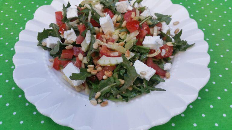 Thumbnail voor het recept: Venkelsalade met tomaat en rucola