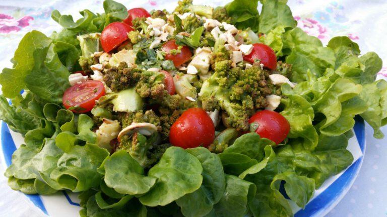 Thumbnail voor het recept: Romanesco salade