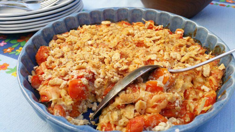 Thumbnail voor het recept: Romige wortels uit de oven