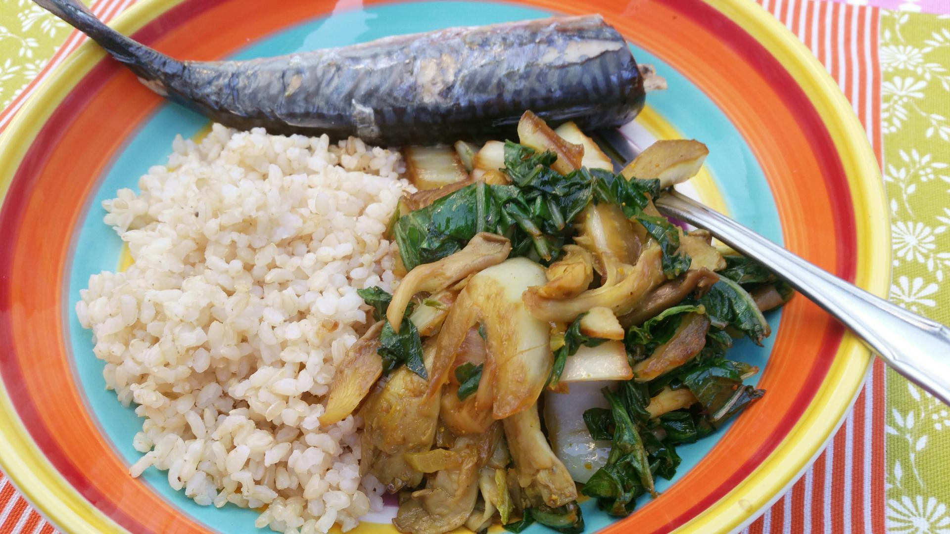Uitgelichte foto voor het bericht Surinaamse paksoi met oesterzwammen