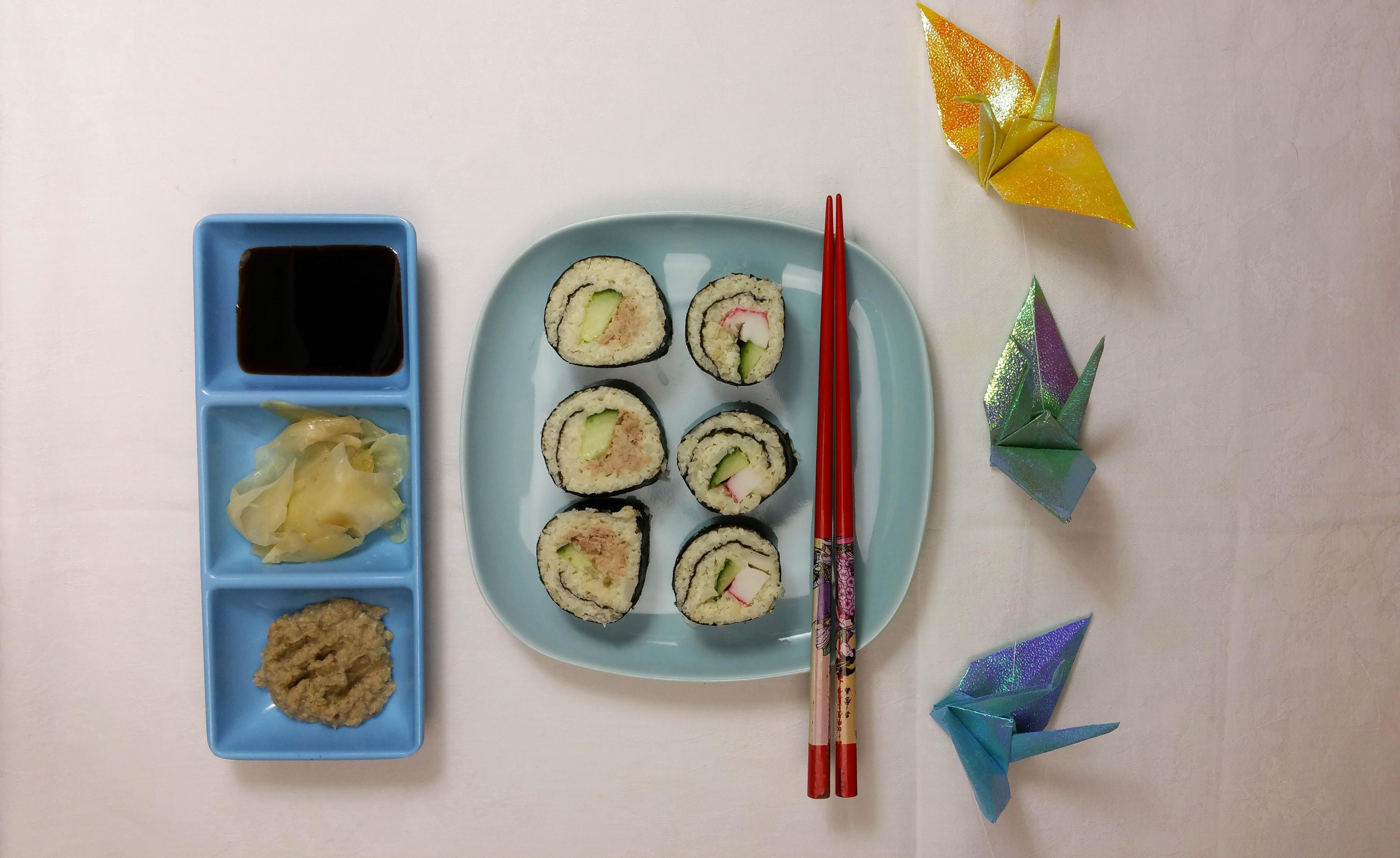 Uitgelichte foto voor het bericht Bloemkool sushi