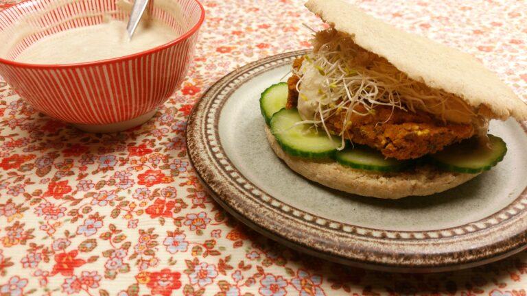 Thumbnail voor het recept: Wortelburgers