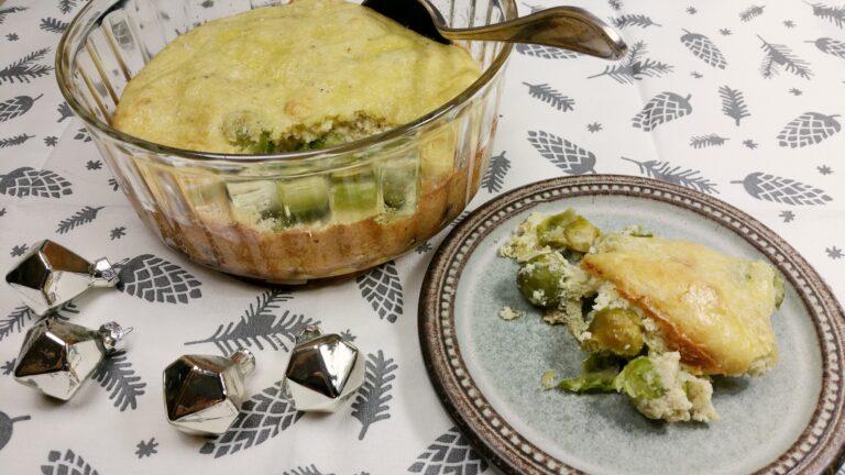 Thumbnail voor het recept: Een soufflélaag op groente
