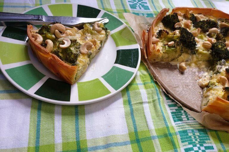 Thumbnail voor het recept: Broccoli quiche