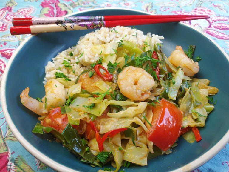 Thumbnail voor het recept: Thaise spitskool