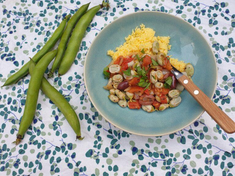 Thumbnail voor het recept: Toscaanse tuinbonen