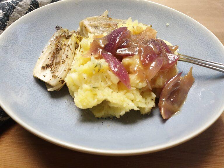 Thumbnail voor het recept: Pastinaak puree met tijm