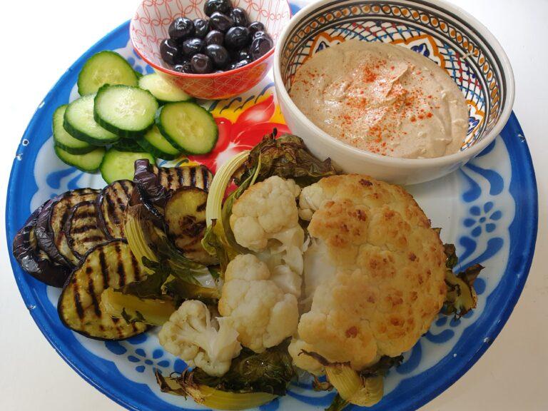 Thumbnail voor het recept: Arnabeet: Libanese geroosterde bloemkool