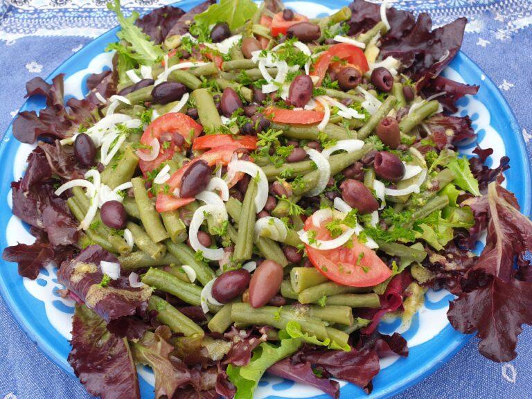 Thumbnail voor het recept: Sperziebonen-salade